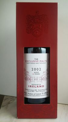 Ireland 2002 Exclusive Malts 13 Year Old
