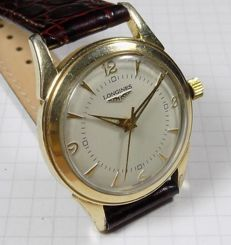Longines 23ZS Calibre - Classic - Cream Dial - 1950's - Men's Wristwatch