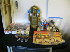 System + Star Wars - 5978 + 7748  + 7306 -  Sphinx Secret Surprise  +  Corporate Alliance Tank Droid  +  Golden Staff Guardians