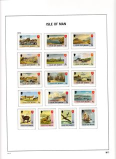 Isle of Man 1973/1999 - Collection in Davo LX Album Volume I