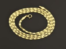 "18k Gold Necklace. Chain ""Valentino"" - 50 cm"
