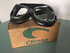 Vintage style CLIMAX motorcycle goggles