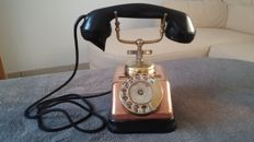 Old metal copper KTAS telephone 1950s-1960s