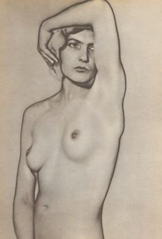 Man Ray (1890-1976) - Solarized Woman, Natacha, 1930