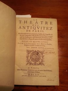 J. Du Breul - Le Theatre Des Antiquitez De Paris - 1612