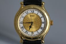 Seiko Age of Discovery - 5Y22 - 6050 - Men´s wristwatch - February 1991