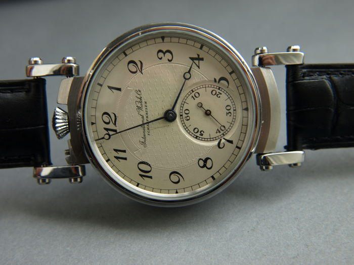 48. IWC Schaffhausen marriage men's wristwatch 1901-1902