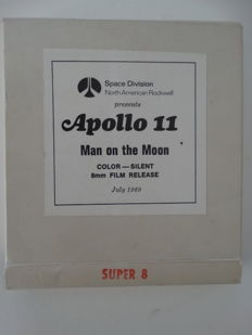 Authentic original Apollo 11 NASA film, Man on the Moon