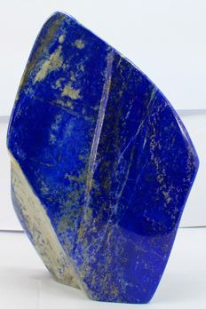 Fine, Large hand-polished Lapis Lazuli tumble - 207 x 132 x 71 mm - 3621 gm