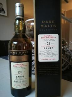 Banff 21 years old Rare Malts Selection