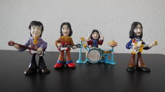 Rare The Beatles Figurines John Paul George Ringo
