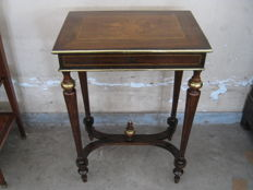 Work table in Napoleon III style - France - end of the 19th century