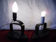 curiosity 2  lamps cast iron irons table lamp