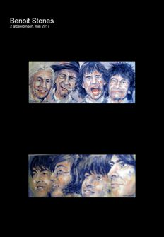 """The Rolling Stones - """"It,s Only Rocker'n Roller"""" /The Beatles  """"All We Need Is Love"""""""