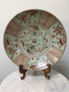 Porcelain Colour Dish - China -  16th Century (Ming dynasty)