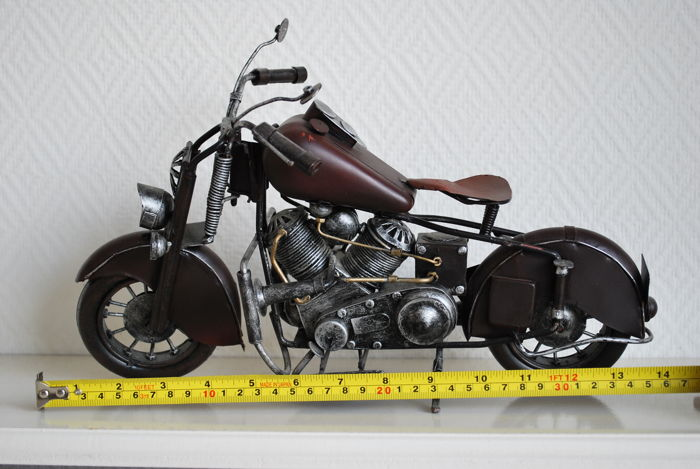 Jayland Usa Handmade Motorcycle Type 1942 Indian Bike Scale 1