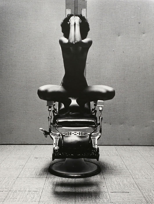 Richard Selby (1933-) - Barber's Chair