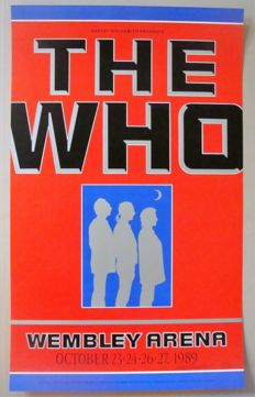 The Who Wembley Arena London by Gary Grimshaw