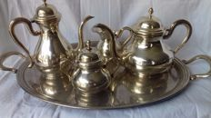Full Sheffield tea set, 1950