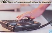 Cartes téléphoniques - Telecom Namibia - 100 years of telecommunications in Namibia