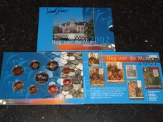 The Netherlands - Day of the Coin 2002 1 Cent up to and including 2 Euros + Signature Mint Master