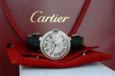 Cartier Ballon Bleu Diamonds XL - women's/men's watch - 2010–present