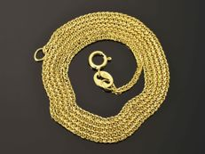 "18k Gold Necklace. Chain ""Wheat"". Length 50 cm. Weight 3.13 g. No reserve price."