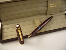 Montblanc 34 fountain pen Bordeaux