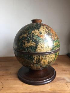 Vintage globe as ice bucket - approx. 1960-Italy