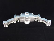 Miniature model Soestdijk Palace - ceramics - second half 20th century
