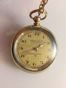 shock proof inventic patent swiss pocket watch