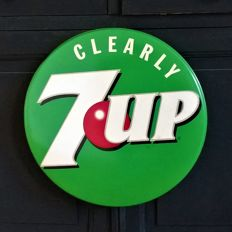 7Up - Clearly Seven Up - 70s - Vintage