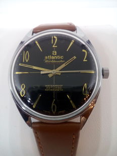 Atlantic Worldmaster - 1960's - Men's watch - mint condition - rare !