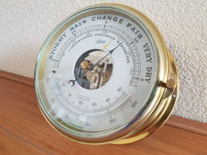 Schatz Royal Mariner-& Barometer Thermometer