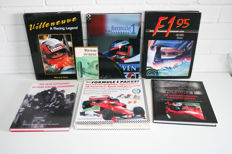 7 car books on the Formula 1 in 1 lot