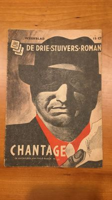 Pulp fiction; [Willy van der Heide] - De drie stuivers roman - 35 issues - 1943 / 1944