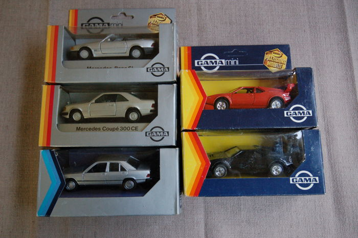 Gama / Minichamps - Scale 1/43 - Mercedes-Benz, BMW & VW Concept
