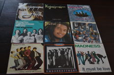 54 single from 1975 till 1992 from Kajagoogoo, Madness, Culture Club and many more