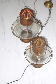 Ship's Lamps of Copper