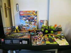 Technic + Elves + Chima + Power Minders - 70142 + 8708 + 4485 +  42027 +  41071 - Eris' Fire Eagle Flyer + Cave Crusher + Desert Racer and more