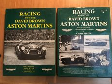 Racing with the David Brown Aston Martins Vol 1&2 - Set of 2 books - 1980 - 1st edition