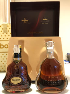 Hennessy XO and Paradis exclusive Rare Set