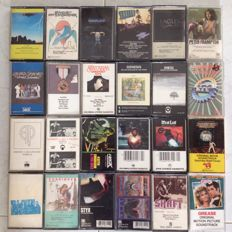 24 Cassettes From The 70'S In Great Condition