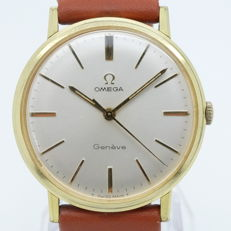Omega - Geneve - Staal/Gold Cab - Homme - 1960-1969