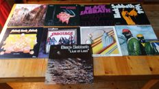 Black sabbath , lot with their first 9 albums with ozzy