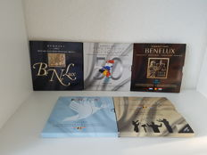 Benelux - Year packs Euro coins 2003/2015 (5 different)
