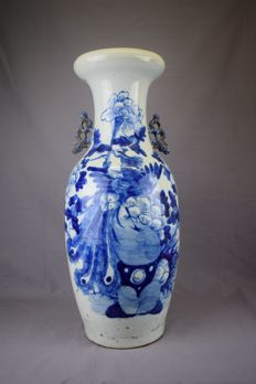 Porcelain vase - China - late 19th century