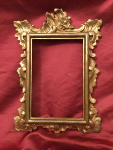 Carved and gilded mirror / frame, Italy, 19th century
