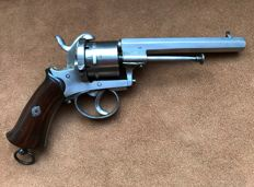 Nice large 9mm pinfire revolver type Lefaucheux - ca. 1860