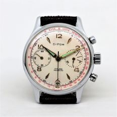 Chrongraphe Suisse – Difor – With Calendar – Men's – 1960-1969